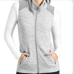 Athleta stronger zip up vest